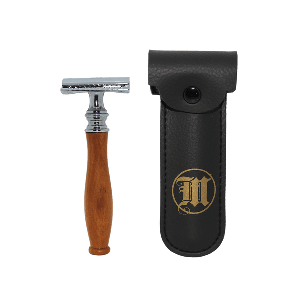 Traditional Double Edge Wood Safety Razor