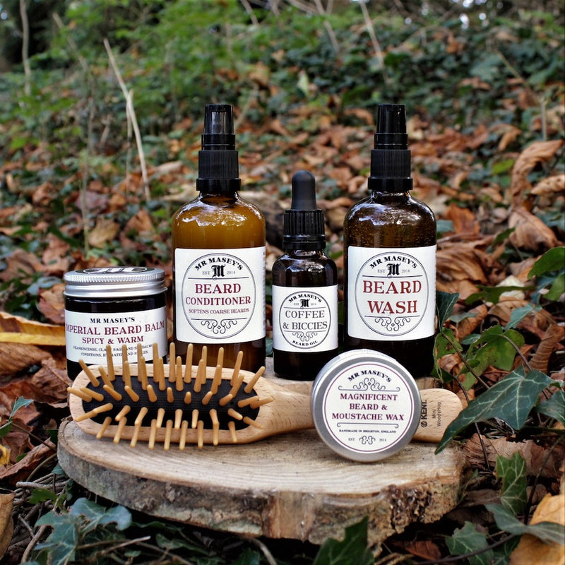 Mr Masey's Ultimate Beard Kit with Brush