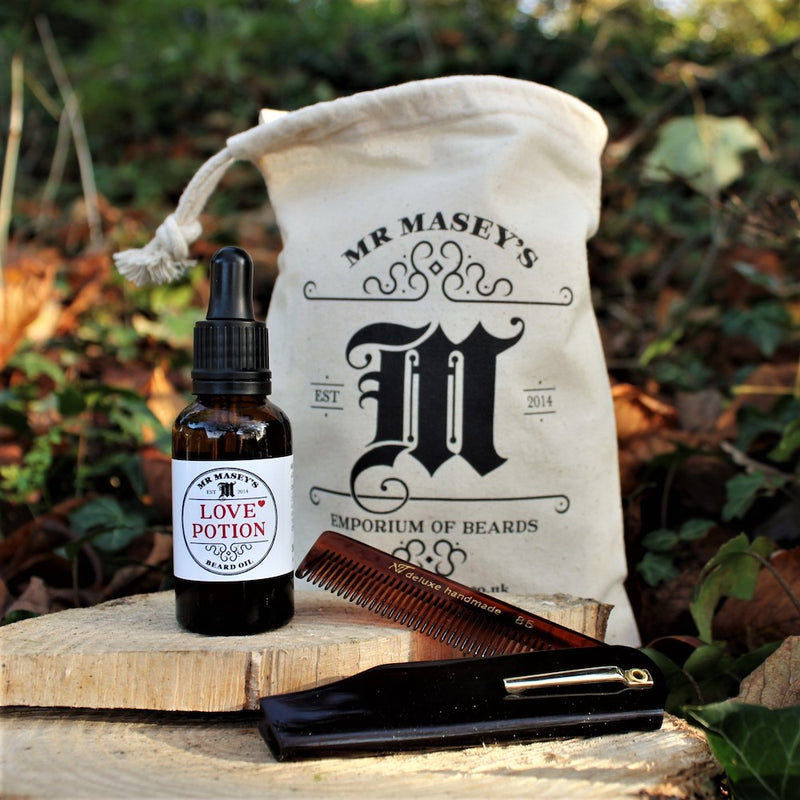 Mr Masey's Essentials Beard Care Kit