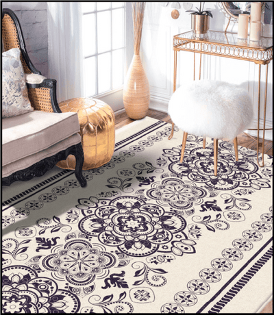 Make your house trendy with the new DecorSoft Modern Area Rug – Venetian