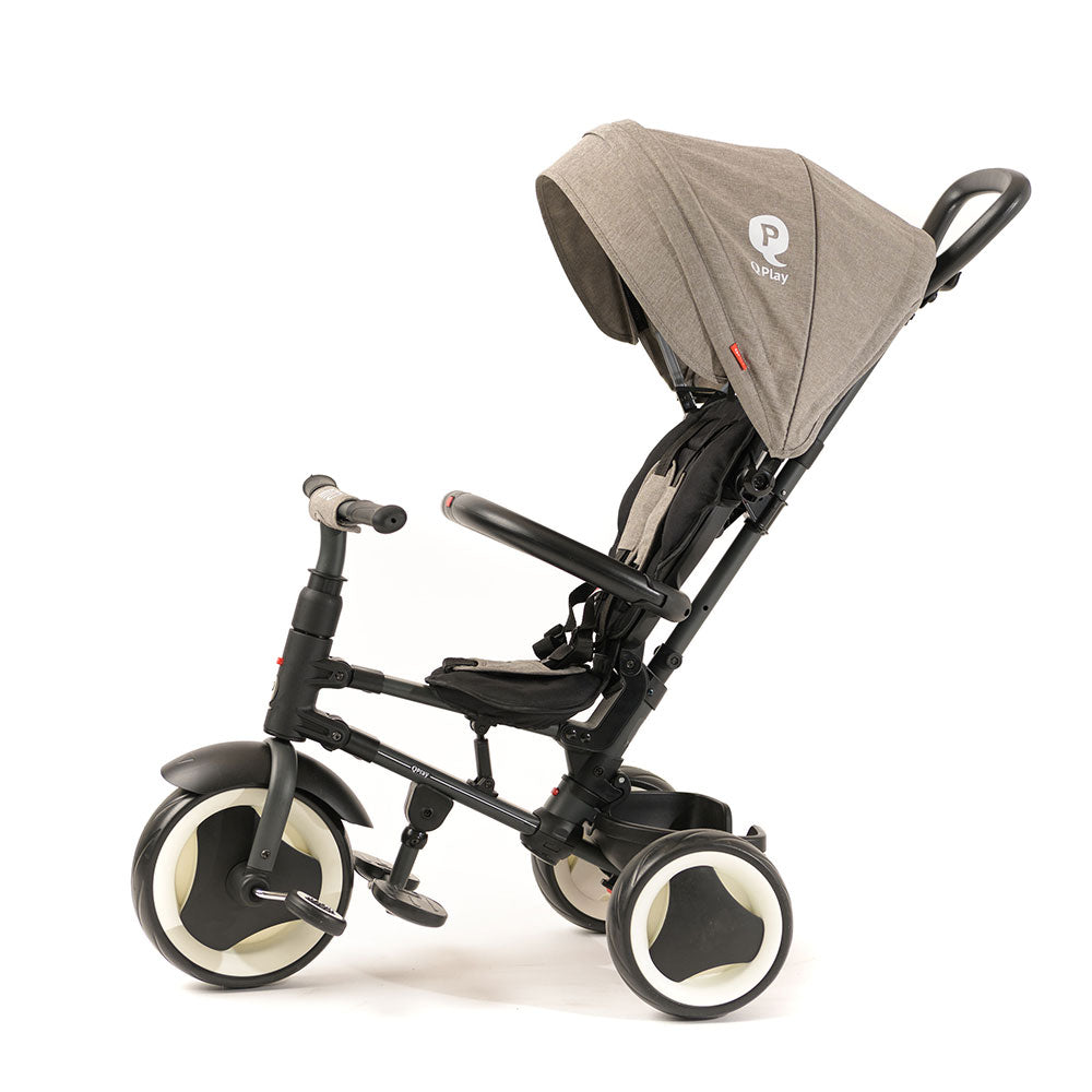 Grey Rito Folding Trike - Smart Kids Tricycle