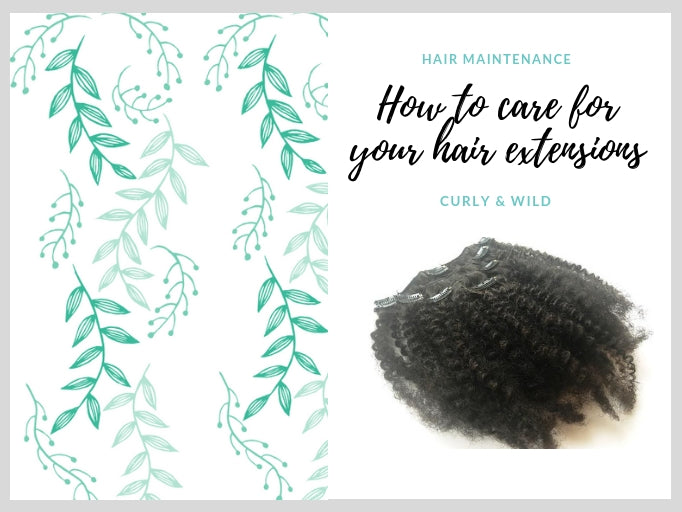 HAIR EXTENSION CARE ADVICE