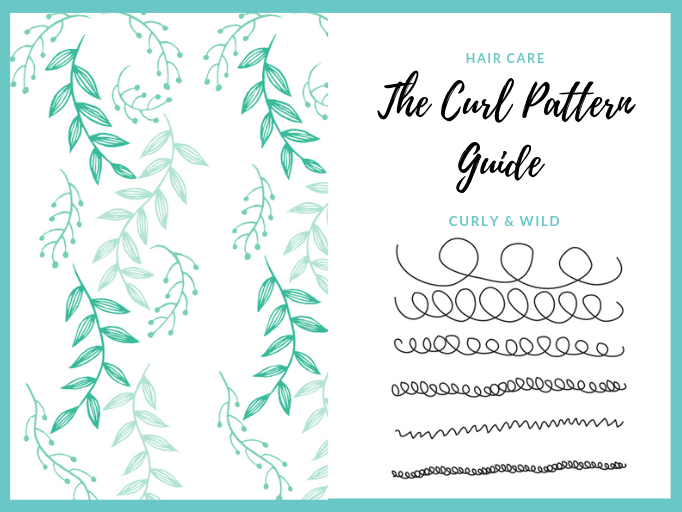curl pattern guide for curly and afro hair