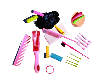 Styling tools for natural hair