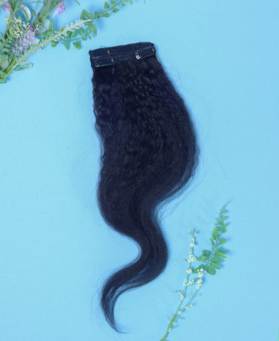 Kinky Straight clip in extensions
