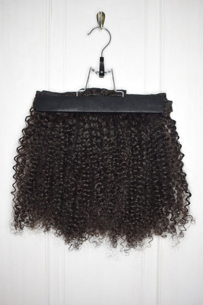 Hair extension carrier bag