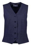 Ladies 5 Button Vest