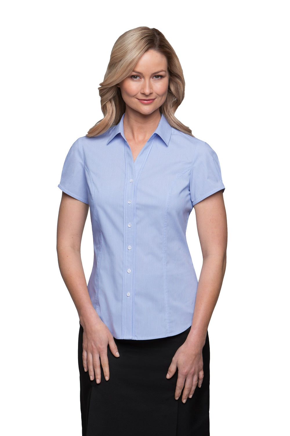 Pinfeather Ladies Blouse SSL