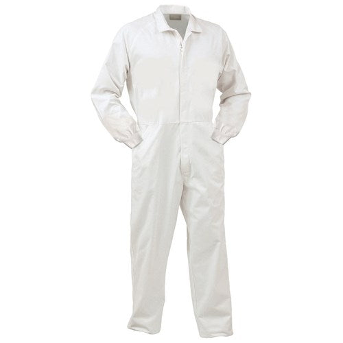 COVID Coverall 240GSM Polycotton Zip Front