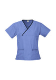 Ladies Crossover Scrub Top