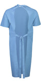 Blood Proof Washable Gown Short Sleeve
