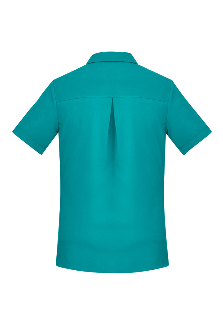 Women's Plain Short Sleeve Shirt