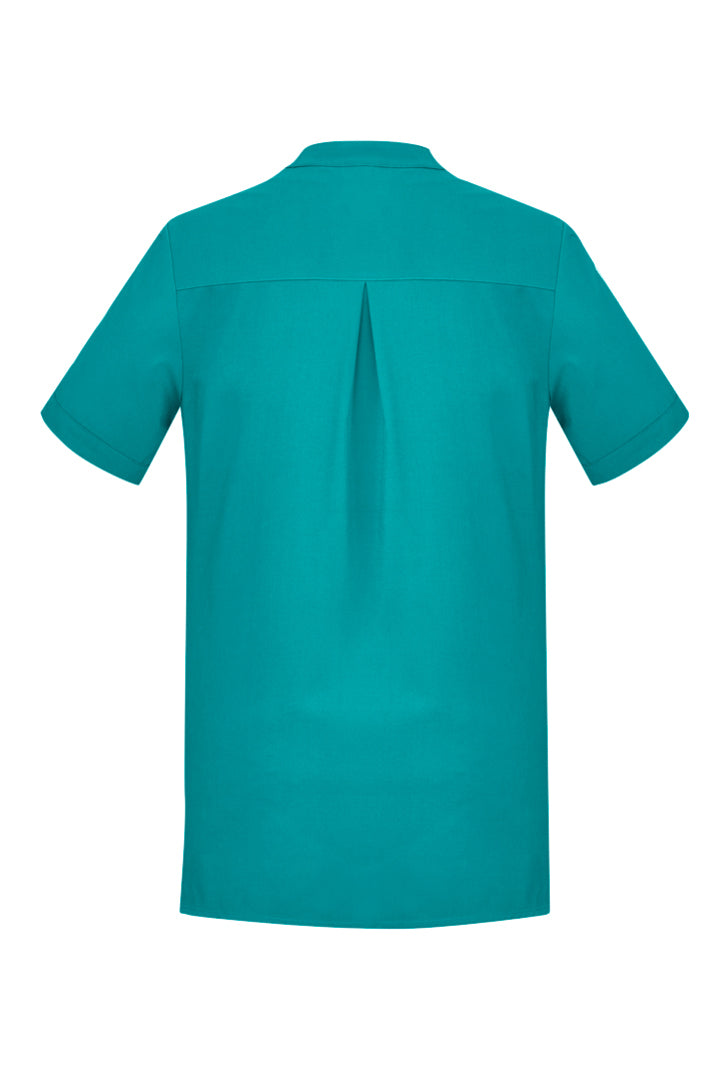 Women's Plain Short Sleeve Tunic