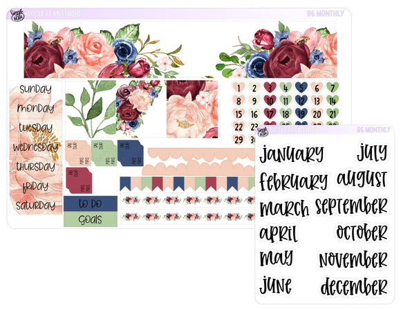 B6 Monthly Kit - Autumn Roses