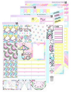 Kawaii Summer Weekly Kit | EC/TN Weekly Kit