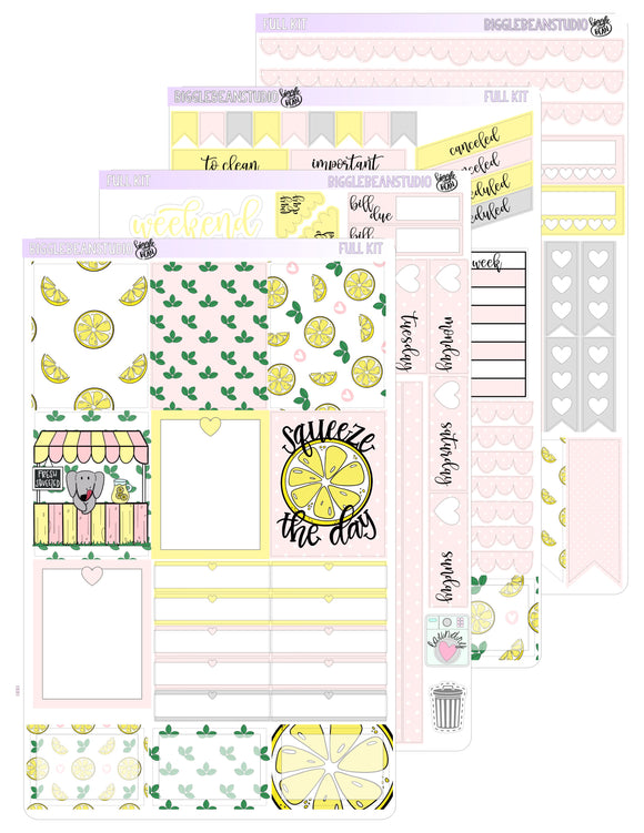 Winnie Loves Lemonade Weekly Kit | EC/TN Weekly Kit