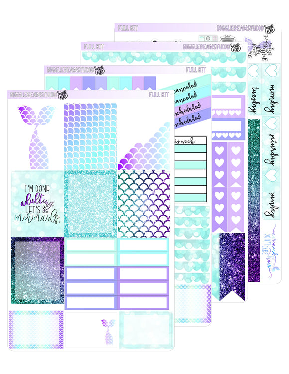 Mermaid Weekly Kit | EC/TN Kit