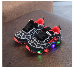 free shipping 04683 d474a Kids Toddler Boys Spiderman Light Up LED Sneaker!!! 60% OFF ...