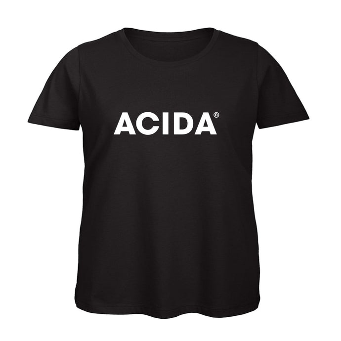 ACIDA® T-SHIRT BLACK/WHITE