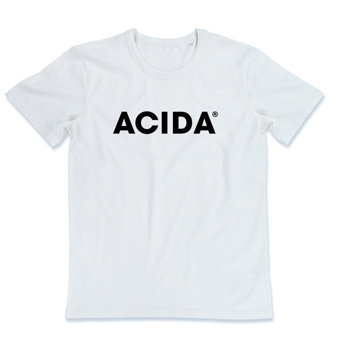 ACIDA® T-SHIRT WHITE/BLACK