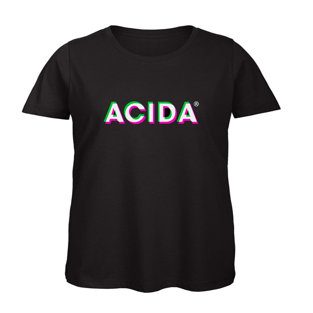 ACIDA® T-SHIRT BLACK/3D