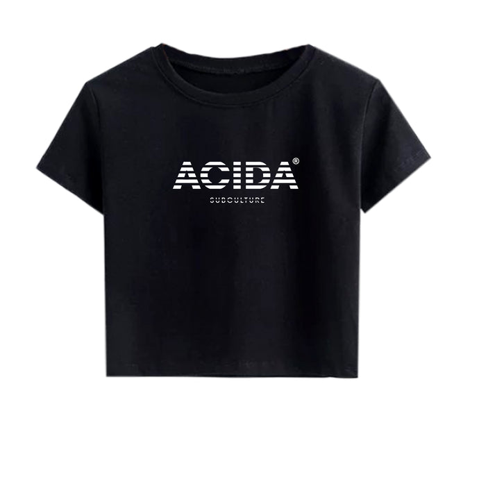 ACIDA® CROPTOP STRIPES