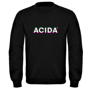ACIDA® SWEATSHIRT BLACK/3D
