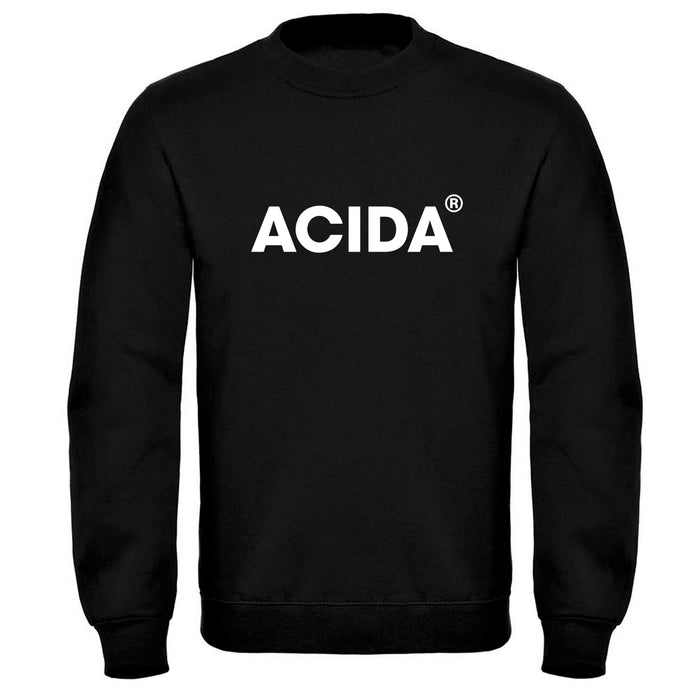 ACIDA® SWEATSHIRT BLACK/WHITE