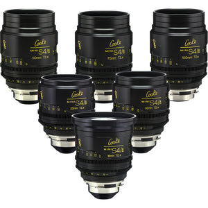 Cooke Mini S4 Lens Set (PL 18, 25, 32, 50, 75, 100)