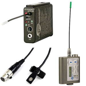 LectroSonics Wireless Kits (Rx,Tx, Lav)