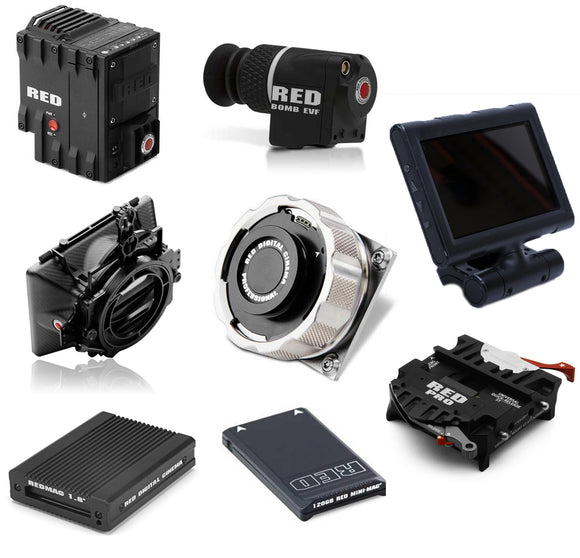 RED Epic Dragon 6K Package (PL, EF, F)