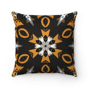 Abstraction Suede Square Pillow - 20 x 20 - Home Decor