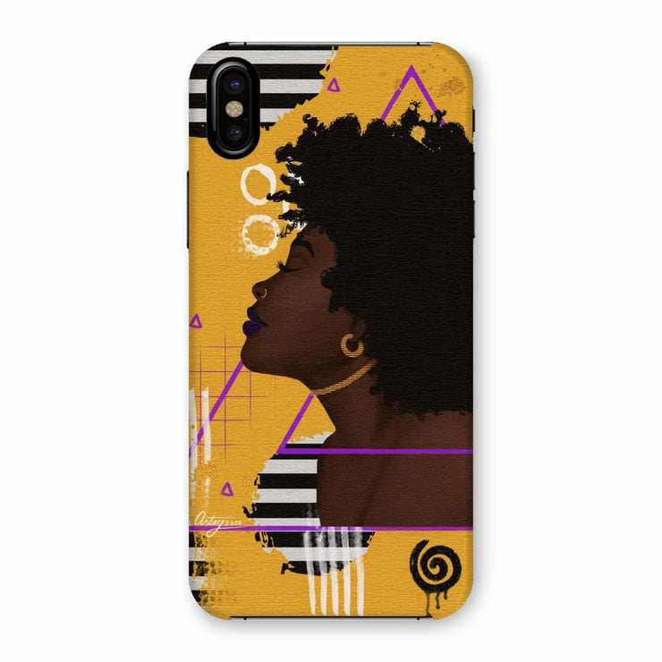 Ametrine Phone Case - iPhone XS / Snap / Gloss - Phone & Tablet Cases