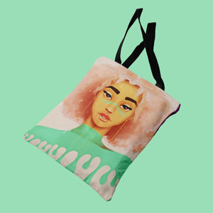 Bubble Gum Drip Tote Bag - Bags