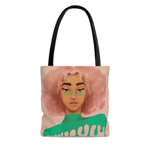 Bubble Gum Drip Tote Bag - Small - Bags