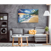 Calm Waters Canvas Print - Canvas Wall Art 2