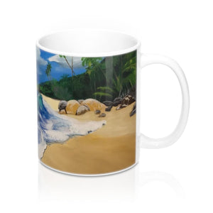 Calm Waters Mug 11oz - 11oz - Mug