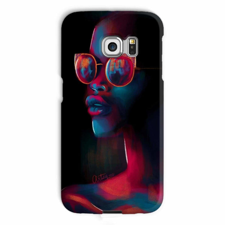Dark Matter Phone Case - Galaxy S6 Edge / Snap / Gloss - Phone & Tablet Cases