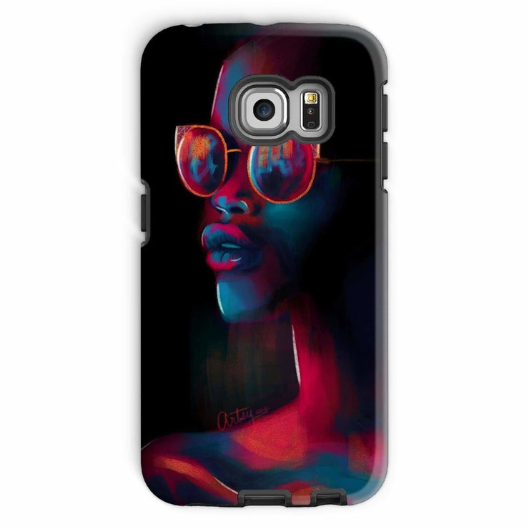Dark Matter Phone Case - Galaxy S6 Edge / Tough / Gloss - Phone & Tablet Cases