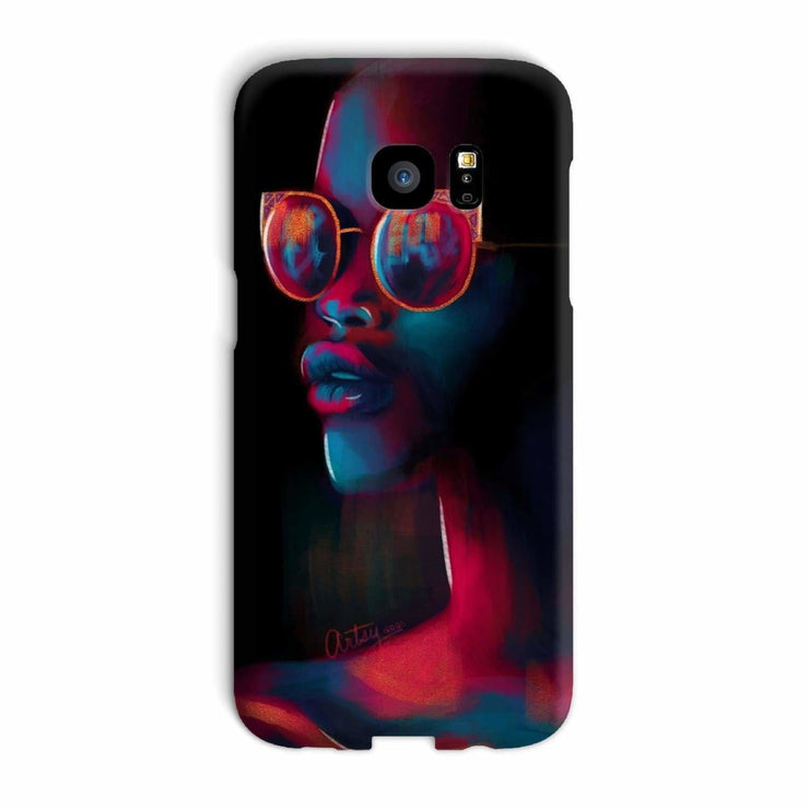 Dark Matter Phone Case - Galaxy S7 Edge / Snap / Gloss - Phone & Tablet Cases