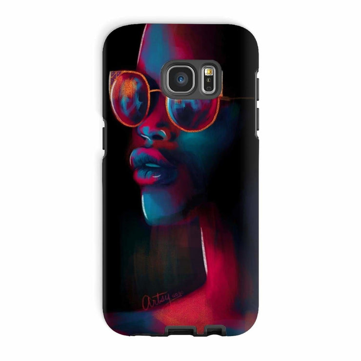 Dark Matter Phone Case - Galaxy S7 Edge / Tough / Gloss - Phone & Tablet Cases