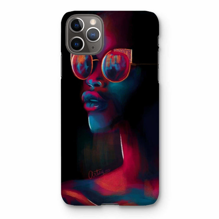Dark Matter Phone Case - iPhone 11 Pro Max / Snap / Gloss - Phone & Tablet Cases