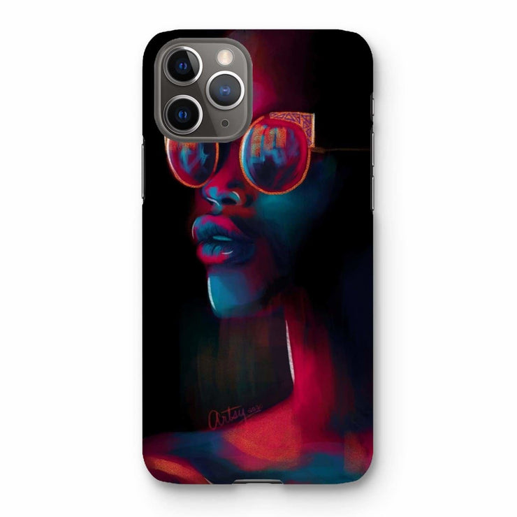 Dark Matter Phone Case - iPhone 11 Pro / Snap / Gloss - Phone & Tablet Cases