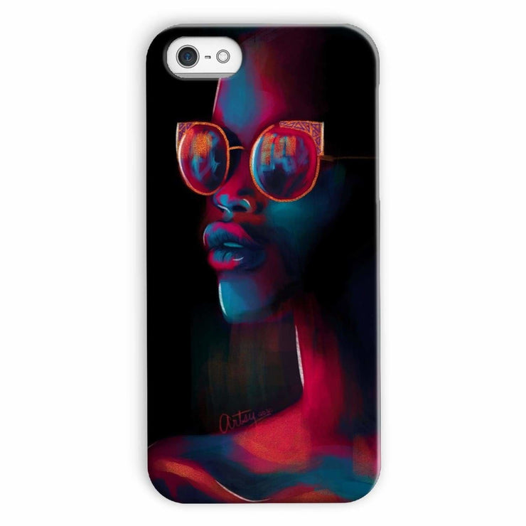Dark Matter Phone Case - iPhone 5c / Snap / Gloss - Phone & Tablet Cases