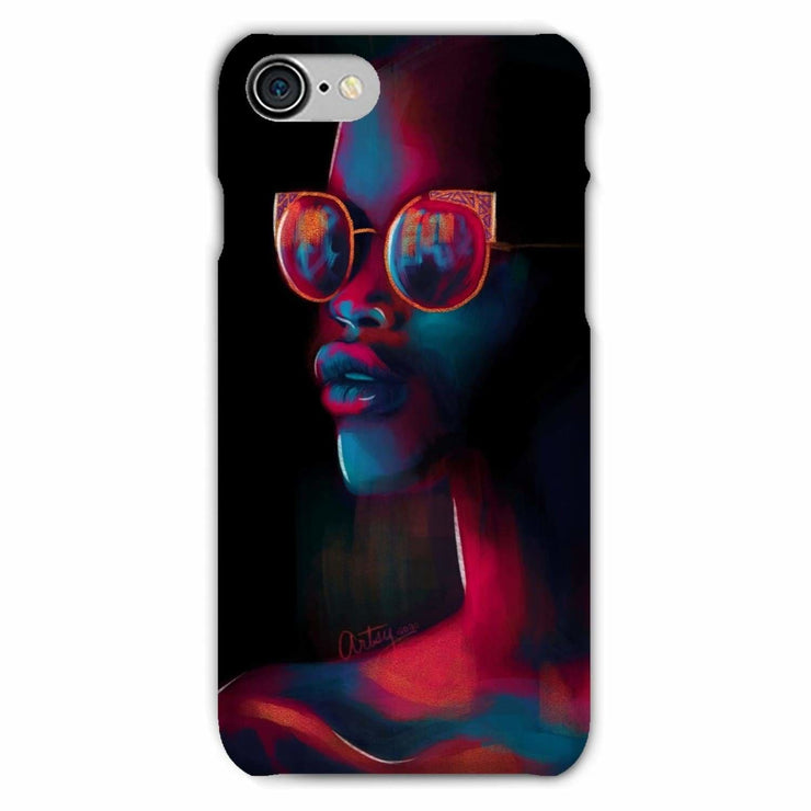 Dark Matter Phone Case - iPhone 7 / Snap / Gloss - Phone & Tablet Cases
