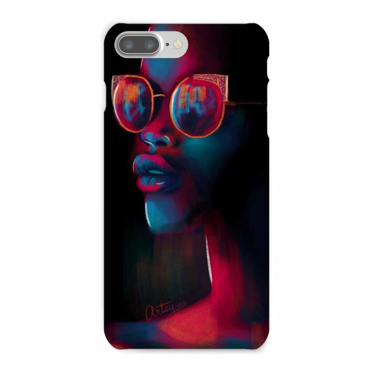 Dark Matter Phone Case - iPhone 8 Plus / Snap / Gloss - Phone & Tablet Cases