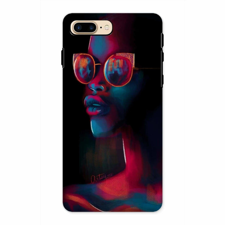 Dark Matter Phone Case - iPhone 8 Plus / Tough / Gloss - Phone & Tablet Cases
