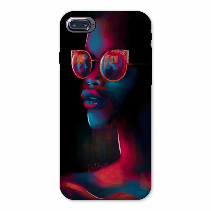 Dark Matter Phone Case - iPhone 8 / Tough / Gloss - Phone & Tablet Cases