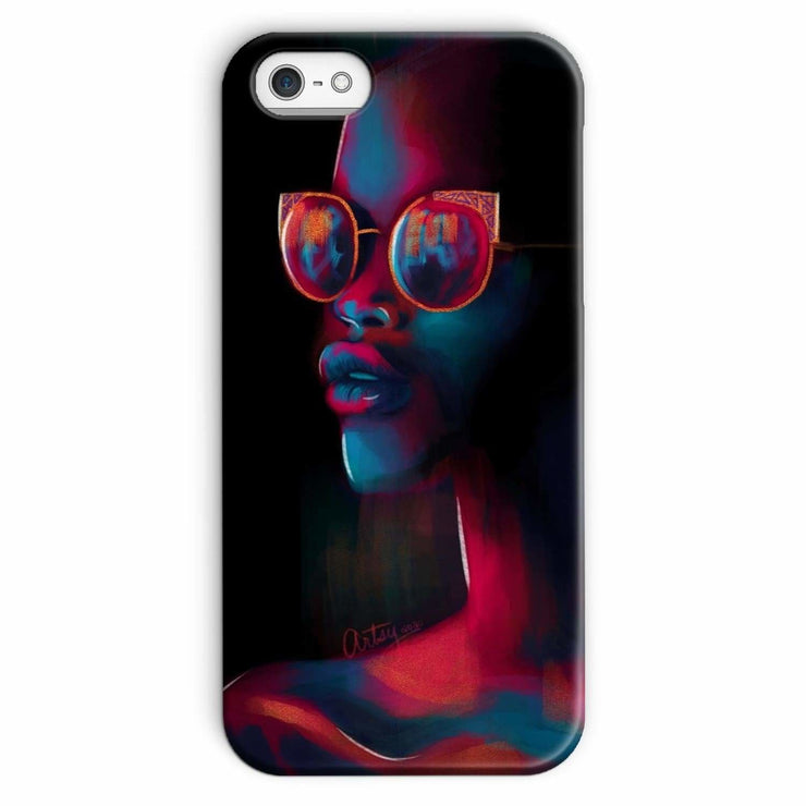 Dark Matter Phone Case - iPhone SE / Snap / Gloss - Phone & Tablet Cases