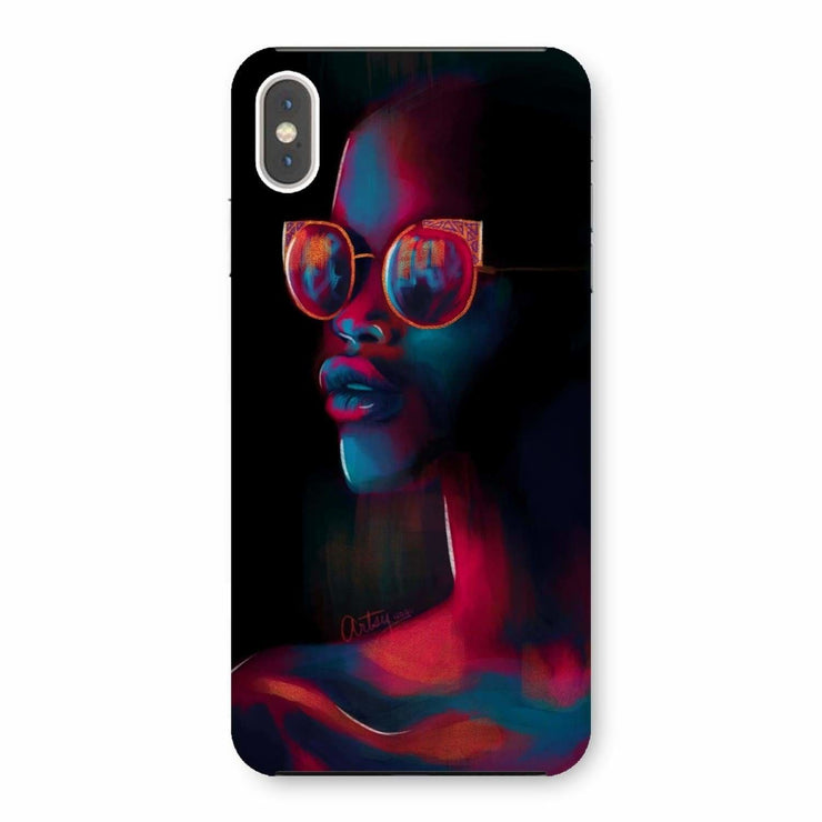 Dark Matter Phone Case - iPhone XS Max / Snap / Gloss - Phone & Tablet Cases